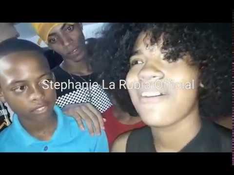 (La hija Pérdida de Tego calderon) Stephanie La Rubia Vs La Maluca Batallas De Freestyle