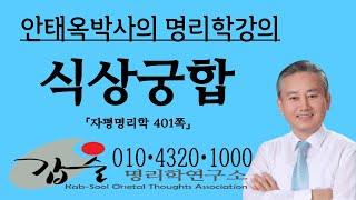 식상일지와 궁합-(자평명리학401쪽)-갑술명리학 안태옥 박사의 사주팔자강의