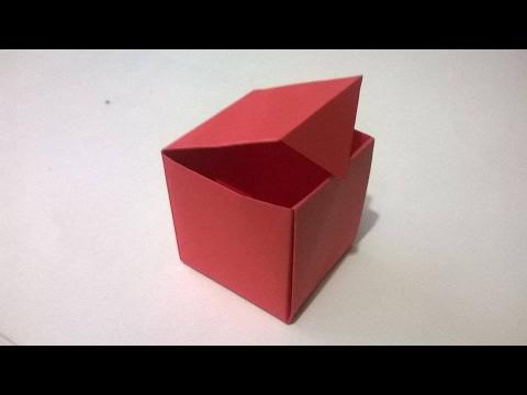 Como hacer una caja de papel origami muy facil how to - Como hacer una caja ...