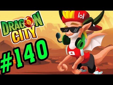 DRAGON CITY - RỒNG YOUTUBER LIÊN MINH HUYỀN THOẠI CỰC CHẤT - GAME NÔNG TRẠI RỒNG #140
