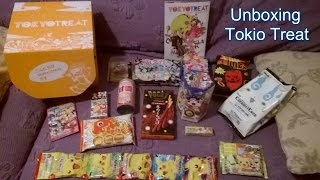 Unboxing Tokyo Treat Premium Box (Gennaio 2016)