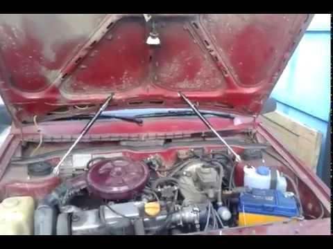 Газовые упоры капота honda accord 7 - YouTube