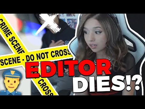 Pokimane ~ MY EDITOR DIES ON STREAM !?