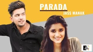 Prada  WhatsApp Status || Jass Manak & Kanika Mann || New Punjabi Status 2018