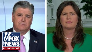 Sarah Sanders: Trump is way out of Jim Acosta