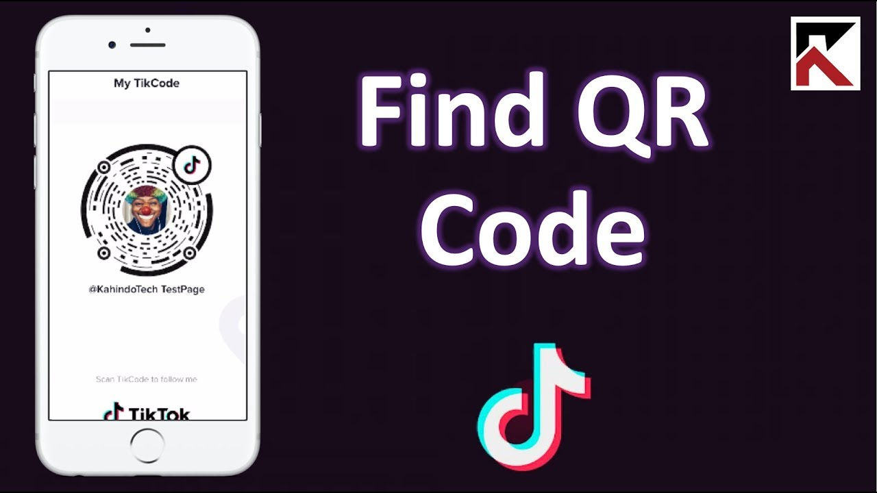 How To Find Your Qr Code Tiktok Youtube