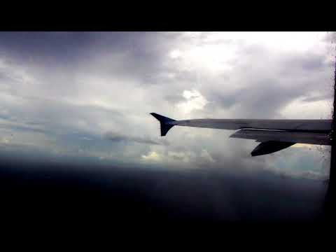 Take off from Honiara Airport in Rainy Weather[Solomon Island]