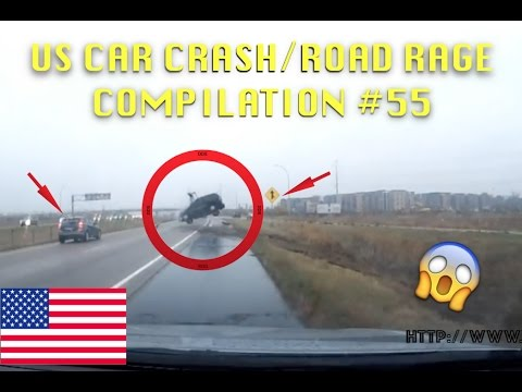 🇺🇸 [US ONLY] US CAR CRASH/ROAD RAGE COMPILATION #55 [Voting Edition]