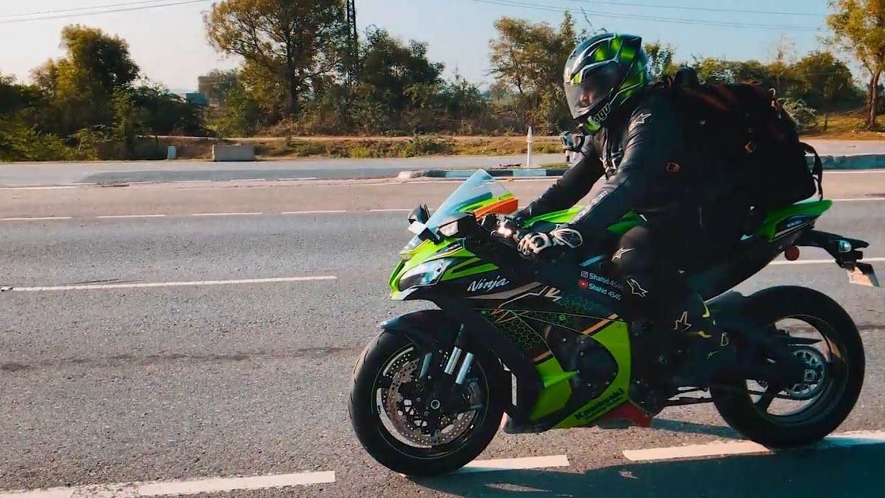 2020 ZX10r Going 240kms for 1st Service