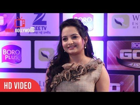 Giaa Manek At Zee Gold Awards 2016