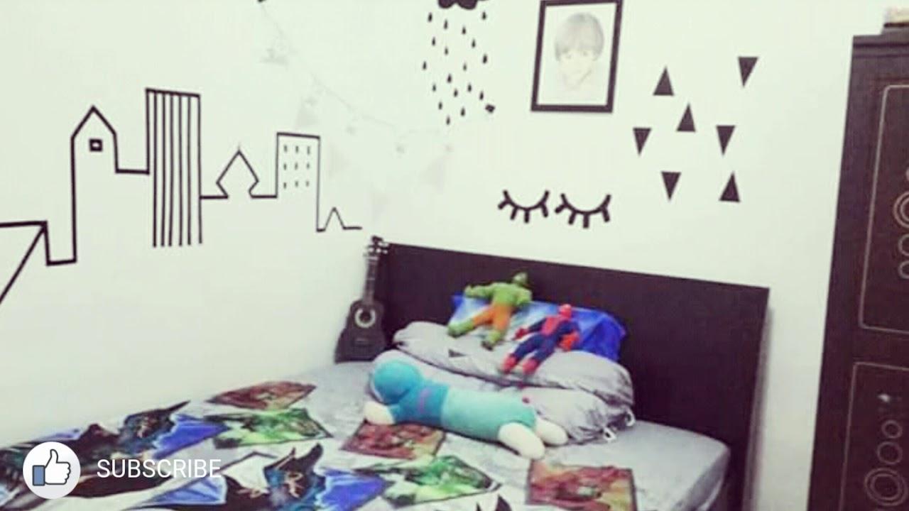 Desain Kamar Tidur Sederhana Dan Keren Anak Laki Laki Rudigenino Youtube