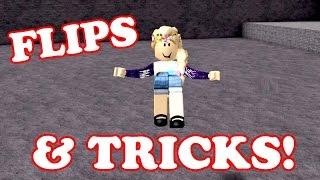 Roblox / DOING FLIPS & TRICKS!! / Speed Run / GamingwithPawesomeTV