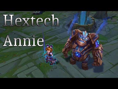 Hextech Annie Skin Spotlight - League of Legends