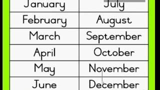 英文1-12月的口訣爆笑記法喔