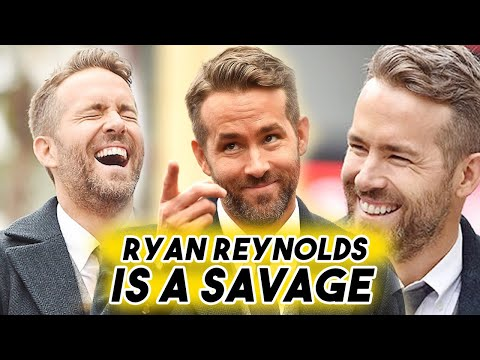 Ryan Reynolds Hates Himself  Total Savage Funny Moments