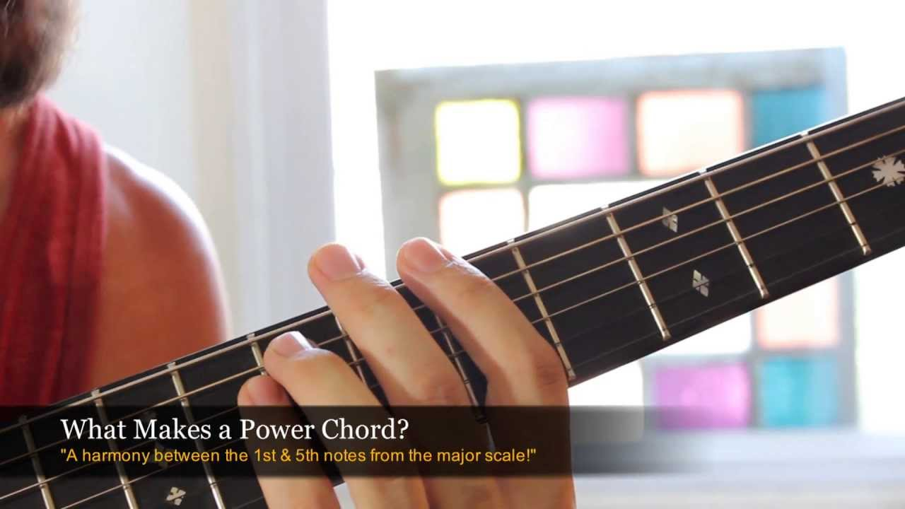 Beginner Rock Guitar Lesson Power Chords Youtube