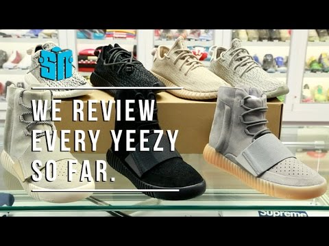 ab7ab512408aa Guide to every Yeezy 350   750 Colorway - YouTube