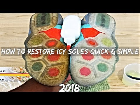 Sole Sauce Tutorial : Extreme Dark Yellow To Icy Soles (No Sea Glow)