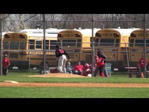 2014 Mount Olive Middle School vs Black River Middle School Baseball game 05_05_2014