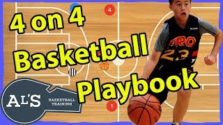 My 4 on 4 Basketball Plays So You Win More Games