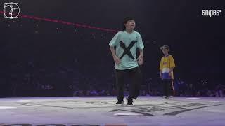 Waydi & Rochka (Criminalz) vs Yu Wen Le & Fu Tian Zong - Juste Debout 2019 ćwierćfinał Hip Hop