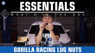 Gorilla Open Ended Forged Steel Racing Lug Nuts - What's In The Box?