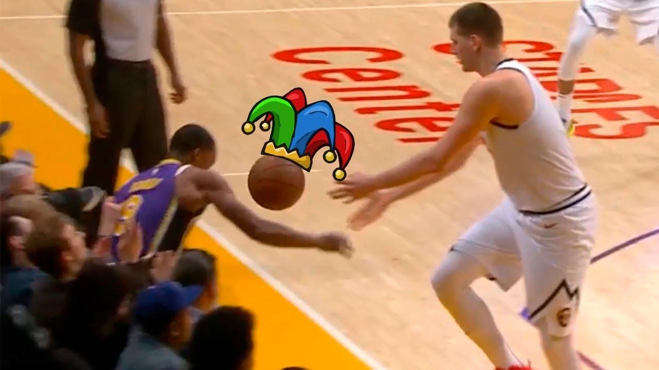 Nikola Jokic Got Jokes on Rajon Rondo, Shows Everyone Why He Is a Joker ! Nuggets vs Lakers