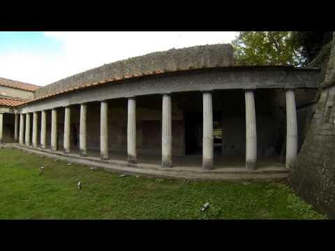 Villa di Oplontis, Poppaea Sabina, Villa of Emperor Nero of Rome Buried by Mount Vesuvius in 79 AD