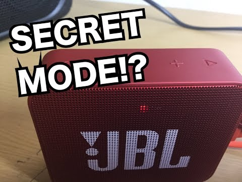 【JBL GO2】LOW FREQUENCY MODE MAXIMUM BASS