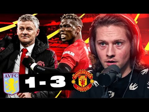 OLE GUNNAR SOLSKJAER-PUT SOME RESPECT ON HIS NAME | ASTON VILLA 1-3 MAN UNITED | RORY REACTS