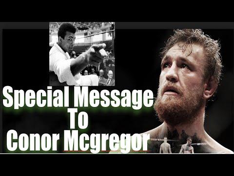 Great Advice for Conor McGregor from Americas Muslim Hero Muhammad Ali
