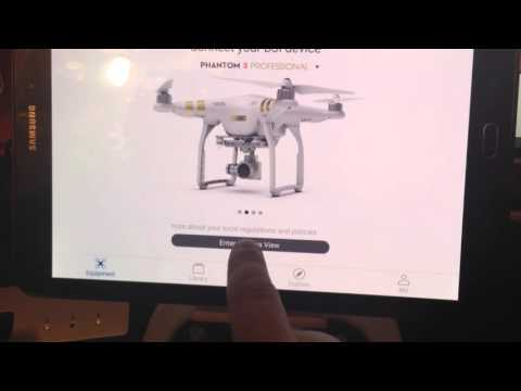 DJI NFZ Unlock Test - Requires P3 GPS Lock to download Unock details...