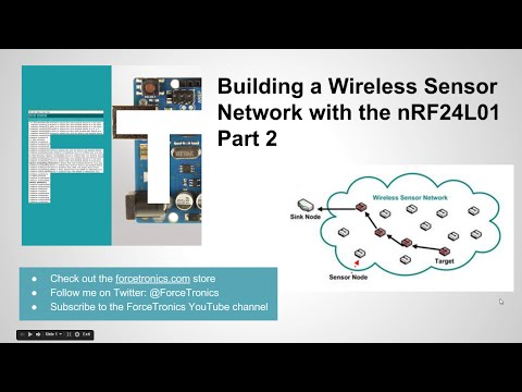 Building a Wireless Sensor Network with the nRF24L01 Part 2