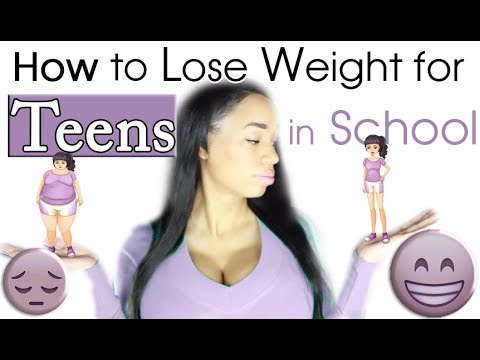 How to Lose Weight for Teenagers in School