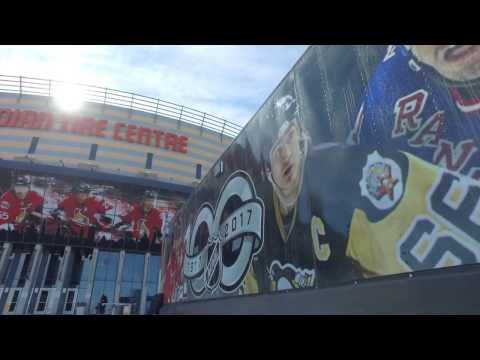 Sens in 60 - NHL Centennial Fan Arena at CTC