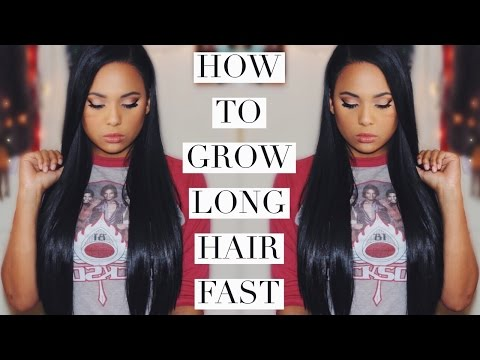 HOW TO GROW LONG HAIR FAST | Scalp Massaging | Ashley Bond Beauty