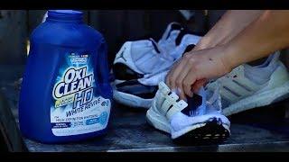Whitening Jordan 11 Mesh & Adidas Primeknit