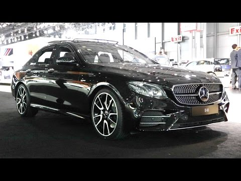 2017 Mercedes-AMG E 43 - 2016 New York Auto Show