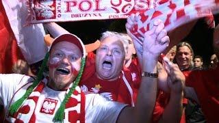 Euro 2016: Fans celebrate