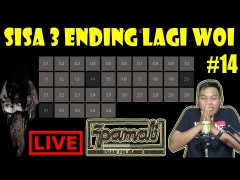 [LIVE] 3 ENDING DOANG UDAH KAYAK NYARI JODOH - PAMALI GAME HORROR INDONESIA PART #14