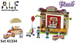 Lego Friends 41334 Andrea´s Park Performance - Lego Speed Build Review
