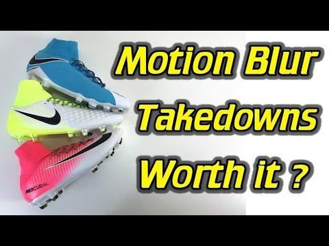 b9e53b61f Nike Mercurial Veloce 3 DF vs Magista Orden 2 vs Hypervenom Phatal 3  (Motion Blur