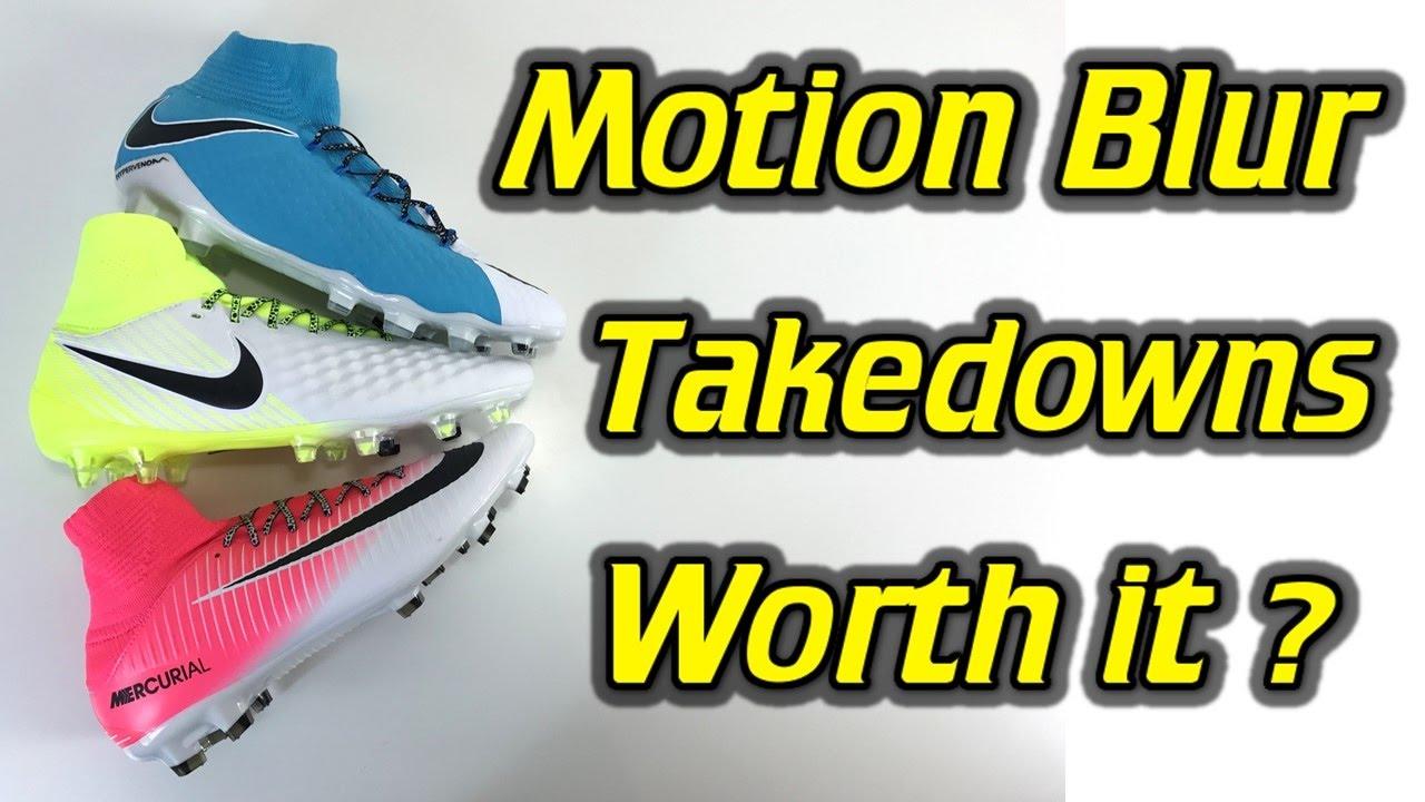 53b9d80d4 Nike Mercurial Veloce 3 DF vs Magista Orden 2 vs Hypervenom Phatal 3  (Motion Blur Pack) - Review