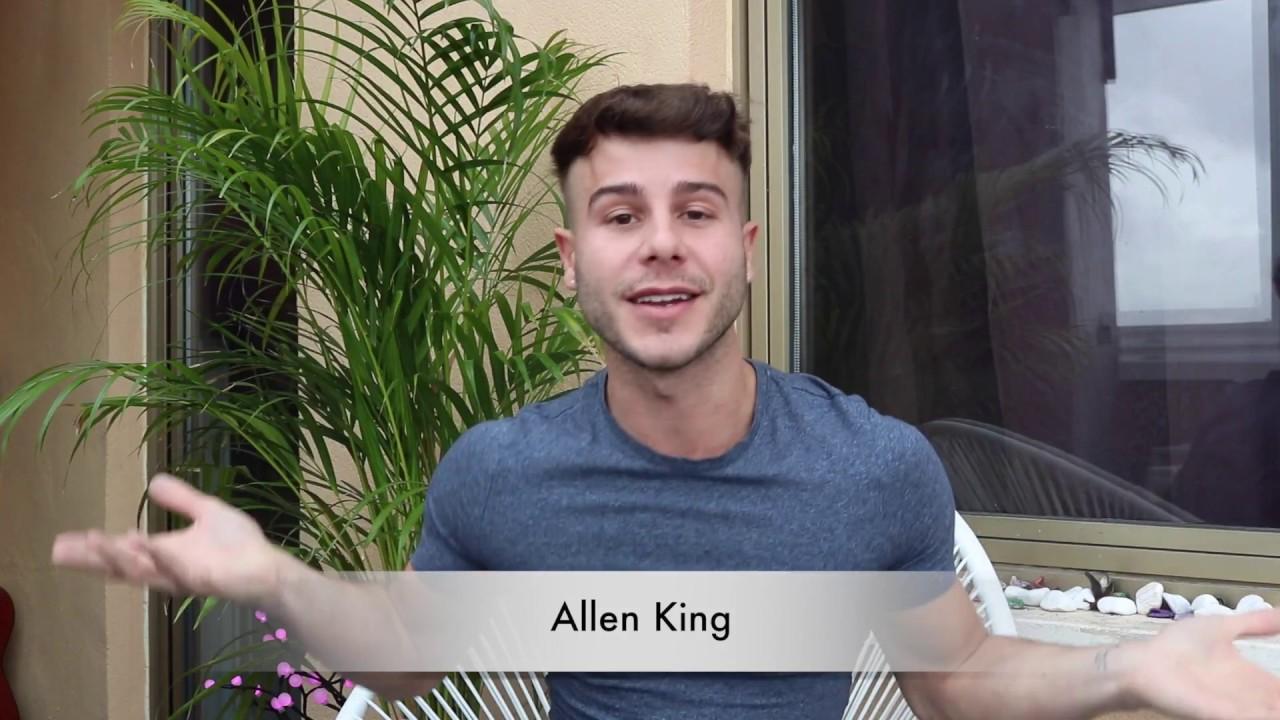 Allen King Gay Porn Bear first video ever // allen king // - youtube