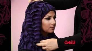 حجاب خليجي جميل