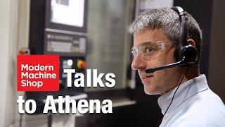 Voice command of CNC machine tool using Athena
