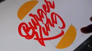Amazing iPad calligraphy - 아이패…
