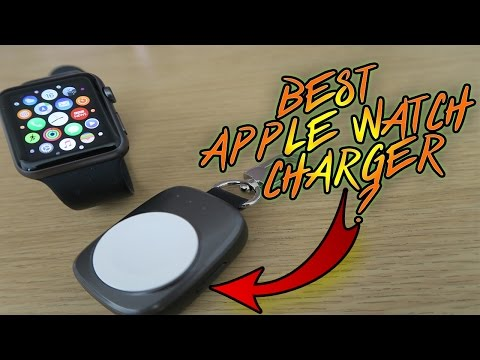 IS THIS THE BEST APPLE WATCH WIRELESS CHARGER EVER??