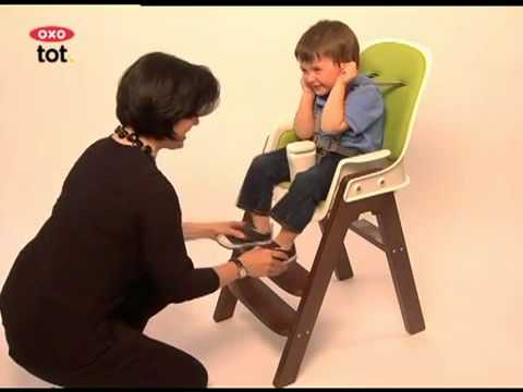 Oxo High Chair Freedom Task With Headrest Tot Sprout Highchair Kiddies Kingdom Com Youtube