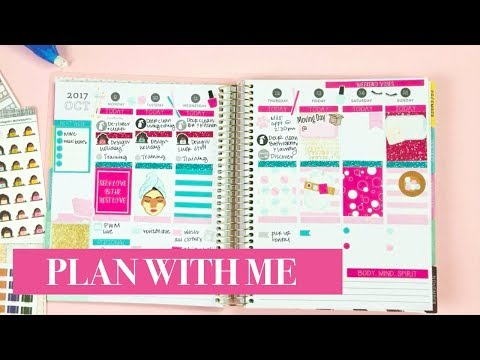 Plan With Me | Moving Week Oct 9-15
